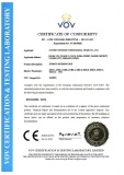 CE Certificate for PC Meter Box