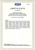 RoHS Certificate for Headphone