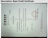 Band Credit Certificate