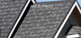 Shingle roof tile house