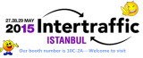 Istanbul traffic exhibition in Turkey on 27th-29th May (Our booth 10C-2A)
