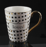 Custom Elegant Ceramic Mugs Make Our Life More Wonderful