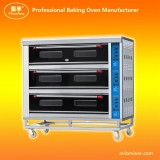 Automatic Touch Control Electric Deck Oven