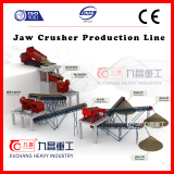 Production Ling for hard stone crushing
