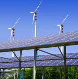 Wind and Solar Hybrid lighting Engineering in Spain