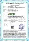 CE certification for LED road light