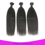 Grade 8A no shedding No tangle virgin hair weft kinky straight