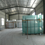 Part of Our Factory--with Some Finished Glass/Mirror Orders