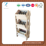 Wine display rack and store rack