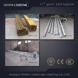 8m Hot DIP Galvanized Street Light Pole with Single Arm