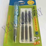 Pen blister package by automatic packaging line