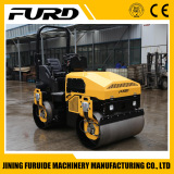 3Ton hydraulic vibration double drum road roller