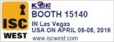 ISC west in las vegas industrial telephone exhibition kntech
