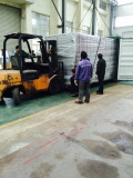 five layers belt dryer export to Sri Lanka
