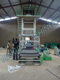 CE standard 1.5meter three layer film blowing machine