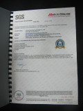 LED Display Factory SGS Certificate