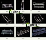 Quartz Boat, Quartz Wafer Boat, Quartz Alloy Boat