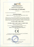 EC declaration of conformity of soil nutrient analyzer