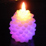 Pinecone Shaped LED Candle