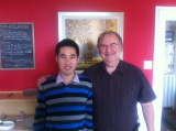 Peter Jiao Visited Quebec Business Partner in Canada in 2011
