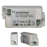 24V 1A 24W Constant Current LED Driver