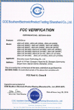 LED power supply FCC certificate