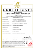 CE certificate for cordless drill