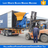 JS concrete mixer delivering to Algeria