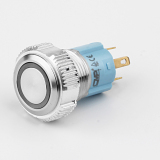 16mm metal push button switch