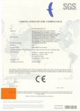 CE certificate for FCP products