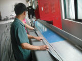 PVC tarpaulin truck cover welding working shop