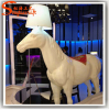 artificial horse fiber glass sculpture