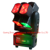 2016 Newest 8pcs 10w 4in1 RGBW LED hot wheel moving head light