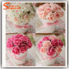 1PC Rose Artificial Fake Flower Bonsai Silk Flower Home Wedding Party Decor