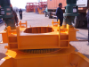 Loading turntable of QTZ series tower crane