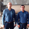 Uzbekistan customers visit the kraft paper production line