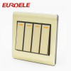 Aluminum plate OEM color wall switch
