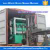 6 sets QT4-24 block making machine line delivering to philipines