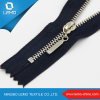 Heavy Duty Metal Double Sided Brass Zipper for Jaceket