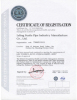 OHSAS/ OHSMS 18001 certificate of Seamless steel pipe