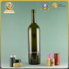 750ml Taper glass wine bottle