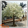 China Supplier Artificial Cherry White Blossom Tree Wedding Decoration Fiber Glass