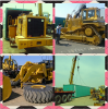 Used CAT 950E Loader and CAT D7H Bulldozer Shipping to West Africa