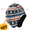 Knitted Hat With Ear Flaps (Jrk118)
