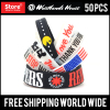 Different Size Custom Design Silicone Wristbands