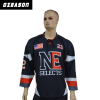 custom sublimation printing ice hockey jersey
