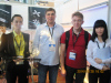 Russia customers in 2014 Hong Kong Autumn Lighting exhibition