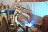 Welding robot of fine machining