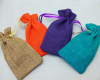Natural style Jute bag (Jute pouch)