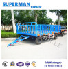 5t Utility Luggage Cargo Transport Drawbar Full Trailer for Sale